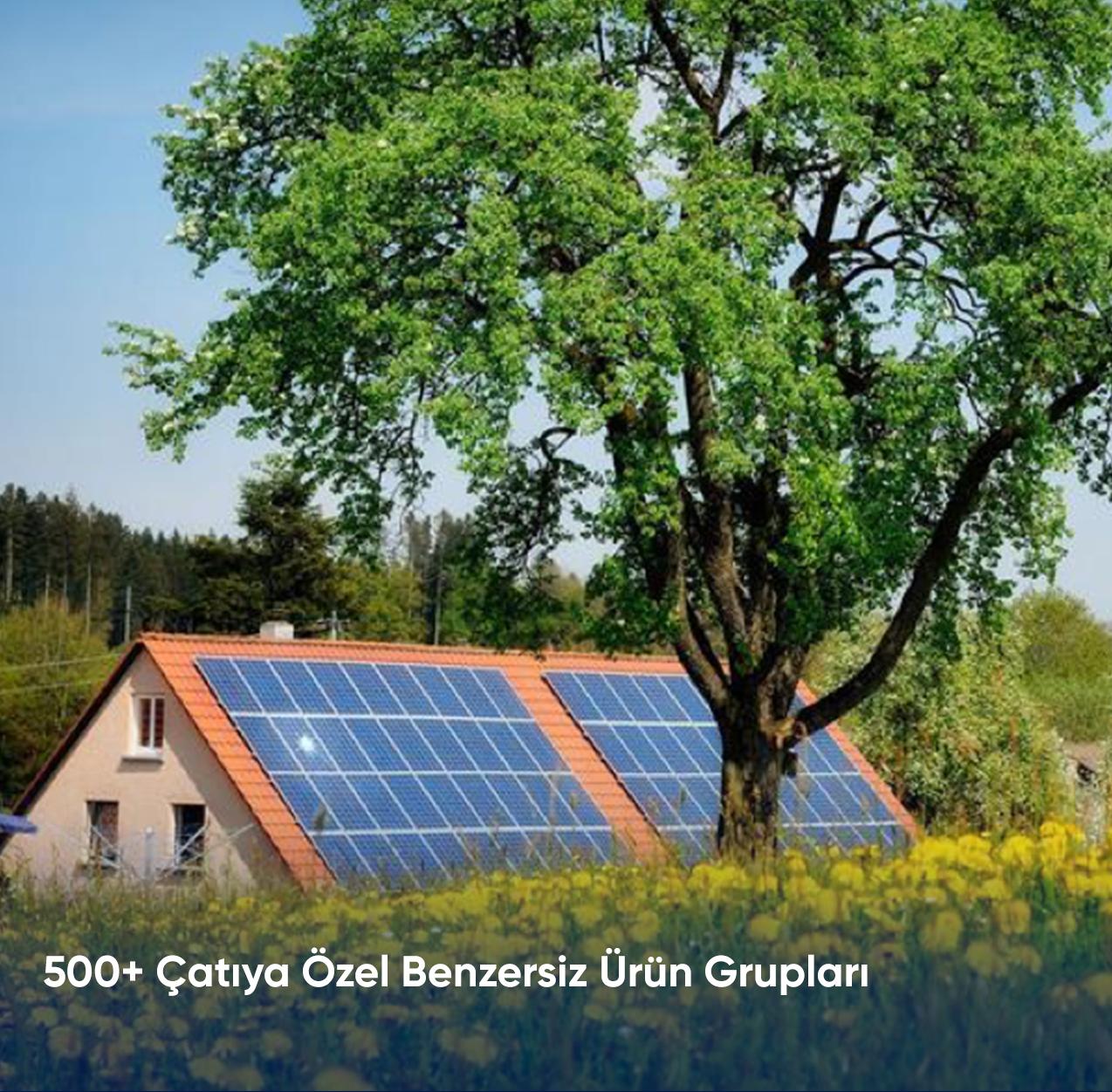 500+ Çatıya Özel Benzersiz Ürün Grupları
